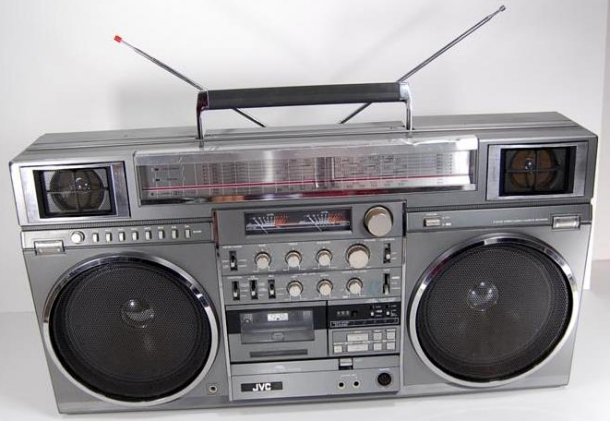 JVC RC-M90 Boombox LL Cool J Radio Album Cover