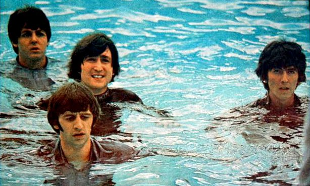 The Beatles Nassau Beach Hotel Bahamas Help! Pool Scene George Harrison Living In A Material World