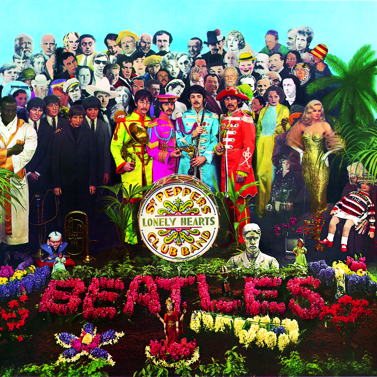The Beatles Sgt. Peppers Lonely Hearts Club Band Hi Res Album Cover