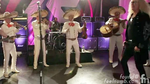 Twisted Sister Hornitos Tequila We're Not Gonna Take It Mash Up Mariachi