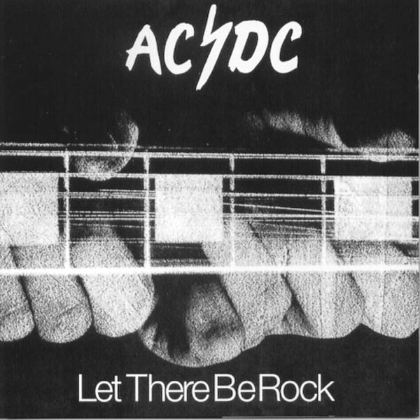 AC/DC Let There Be Rock Album Cover Chris Turner Buffalo