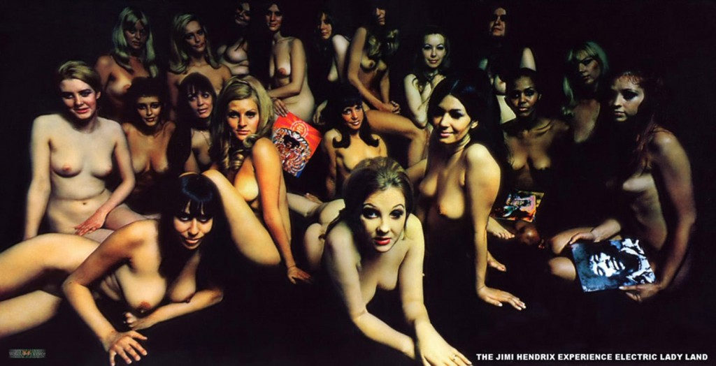 The Jimi Hendrix Experience Electric Ladyland Topless Women