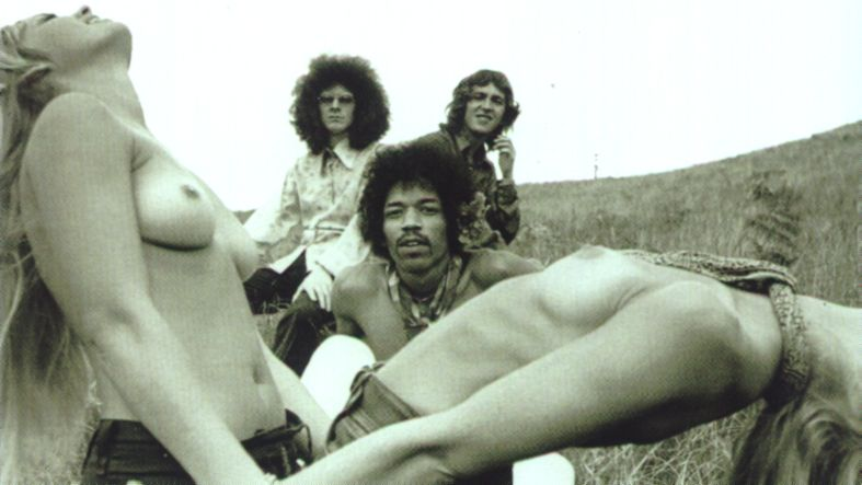 Jimi Hendrix Experience Hawaii Maui 1968 Topless Photo