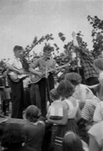 John Lennon The Quarry Men July 6, 1957 Paul McCartney