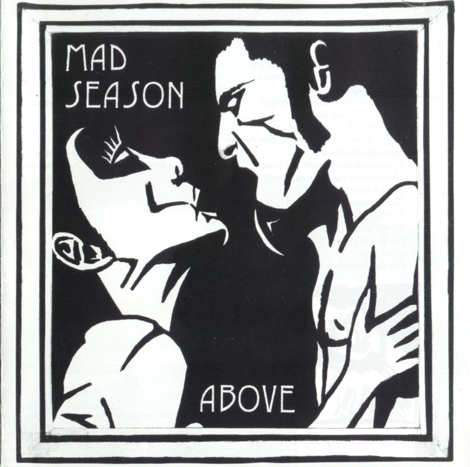 Mad Season Above Album Cover Layne Staley Drawing Demri Parrott