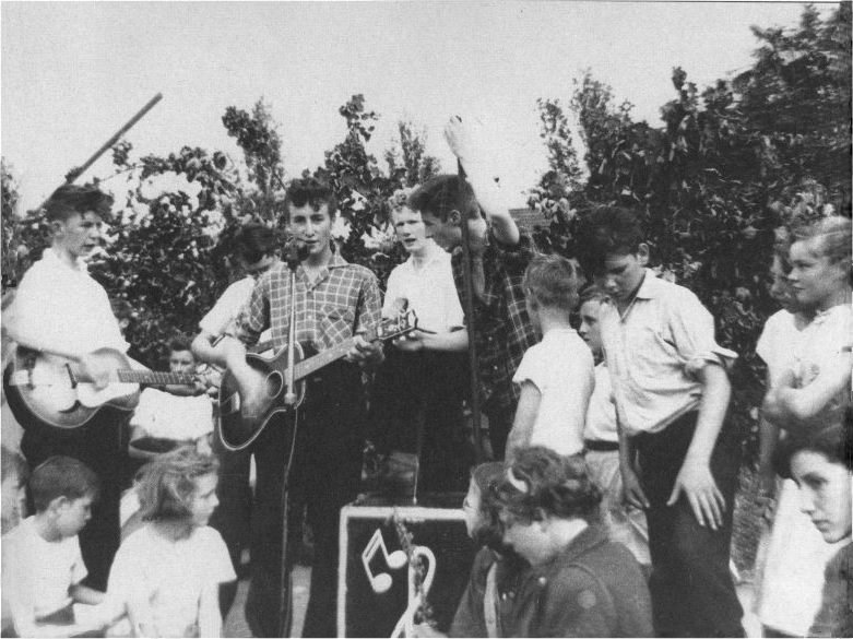 The Quarry Men John Lennon Skiffle Band St. Peter's Woolton Parish Church July 6, 1957