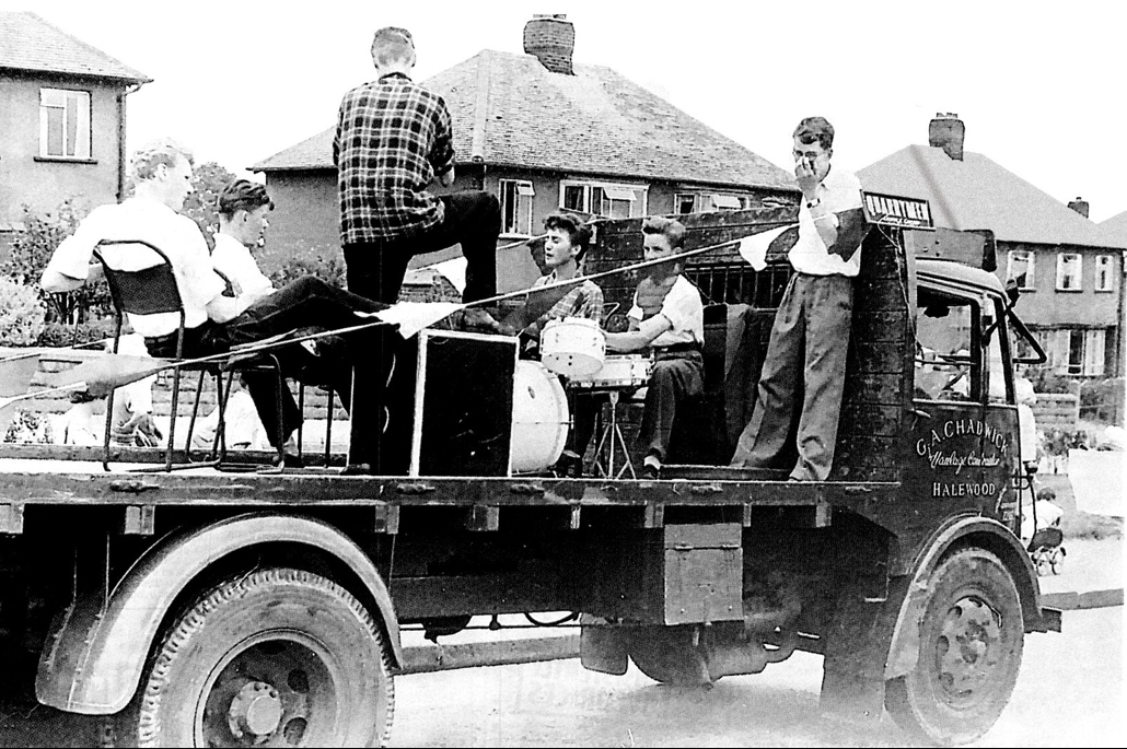 John Lennon The Quarry Men July 6, 1957 St. Peter's Woolton Parish Church Paul McCartney