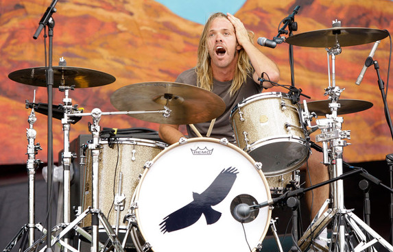 Taylor Hawkins Hawk Tattoo Logo Foo Fighters Drummer