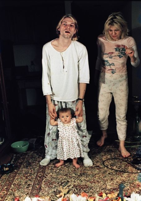 Kurt Cobain Back Cover In Utero Nirvana Frances Bean Cobain Courtney Love