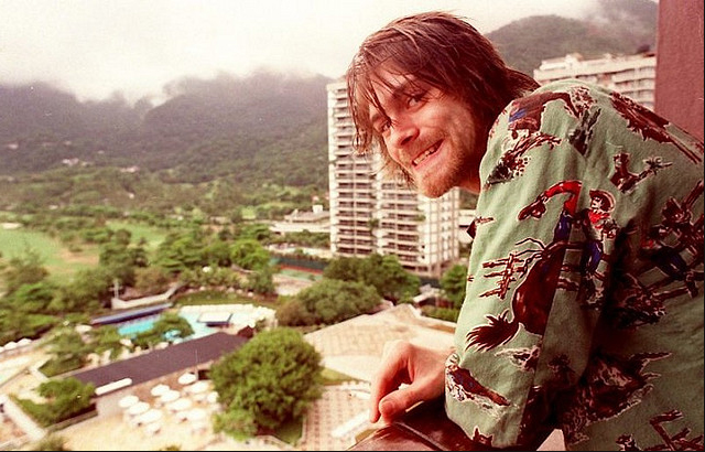 Kurt Cobain Hotel Intercontinental Brazil 1993 Nirvana