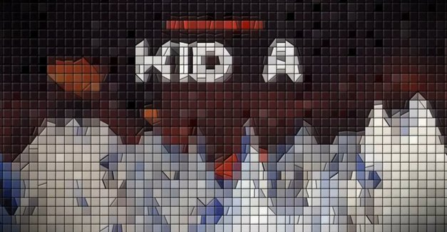Radiohead Kid A Album 8 bit Version