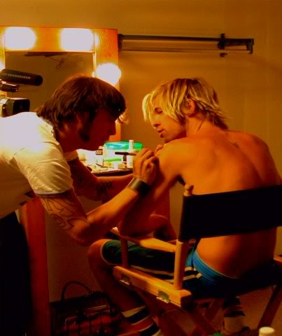 Taylor Hawkins Mimi Tattoo Dave Grohl Foo Fighters