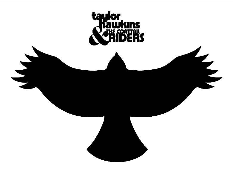 Taylor Hawkins & The Coattail Rider Hawk Tattoo Logo