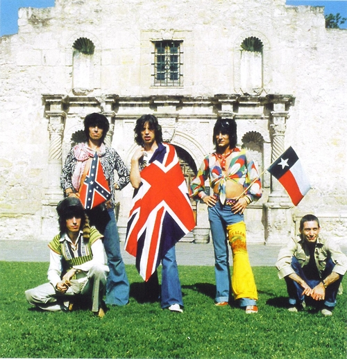 The Rolling Stones The Alamo Union jack Flag Confederate Texas