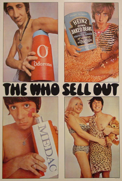 The Who Sell Out Album Cover Advertisements