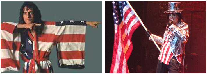 Alice Cooper American Flag USA