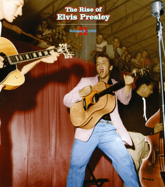 Elvis Presley The Rise Of Elvis Presley Color Fort Homer Hesterly Tonsil Color