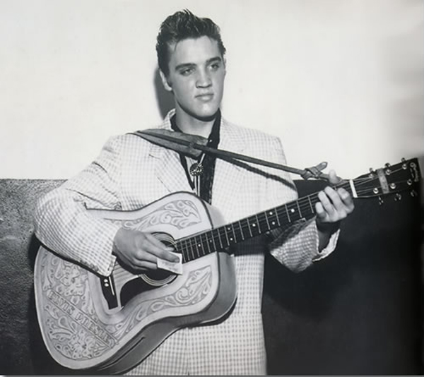 Fort Homer Hesterly Armory Elvis Presley Backstage July 31, 1955