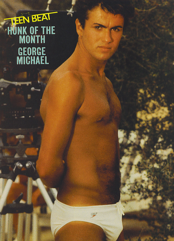 George Michael Hunk Of The Month Gay Teen Beat