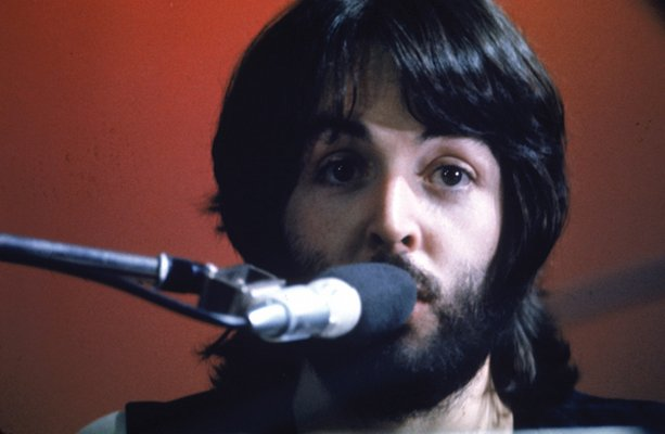 Paul McCartney Let It Be Album Cover The Beatles Microphone