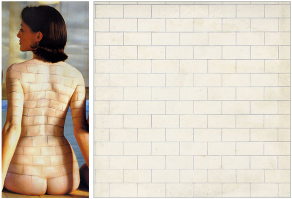 Pink Floyd Back Catalogue Poster The Wall Body Paint Model