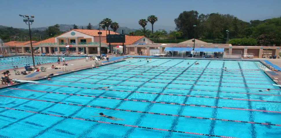 Rose Bowl Aquatic Center Nirvana Nevermind Pool Pasadena California