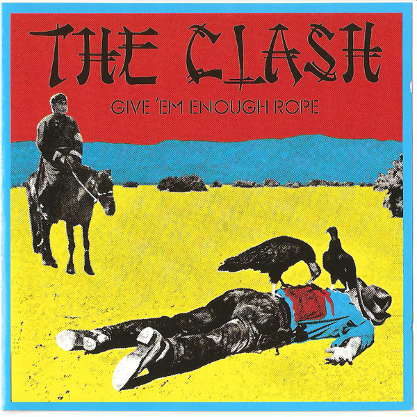 The Clash Give 'Em Enough Rope End Of Trail Postcard