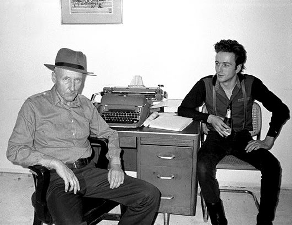 William S. Burroughs Joe Strummer The Clash Musicians
