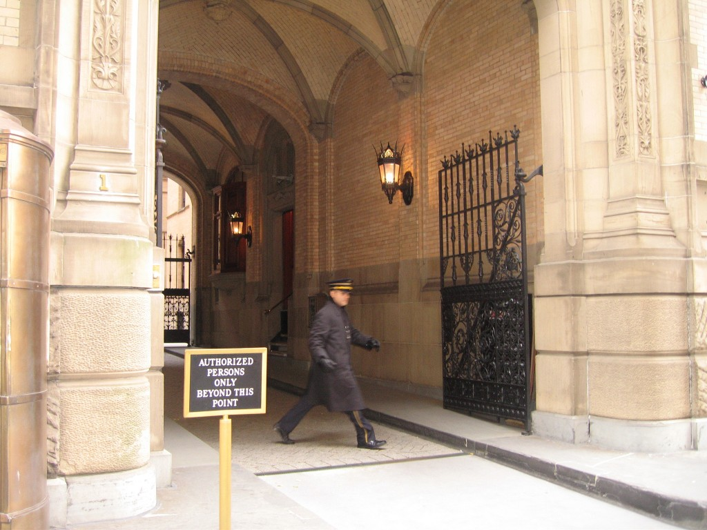 The Dakota Entryway New York 72nd Street John Lennon