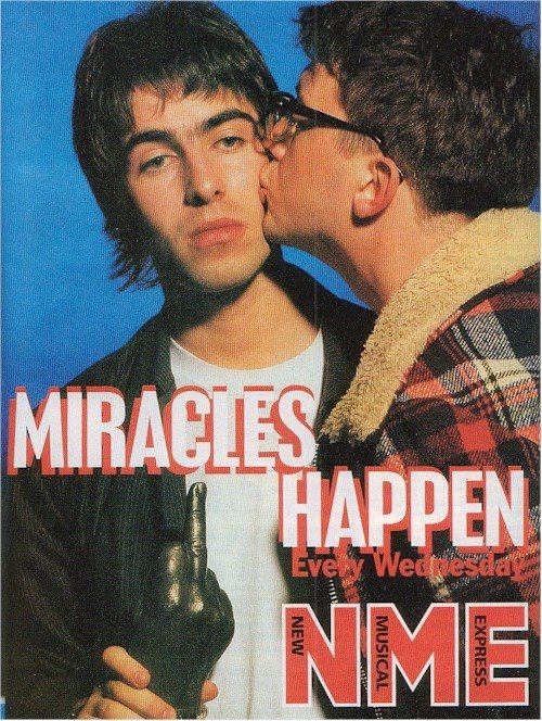 graham coxon blur kissing liam gallagher oasis