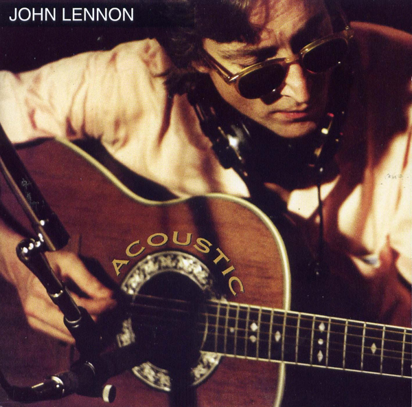 John Lennon Acoustic Album Cover 2004 Ovation Guitar