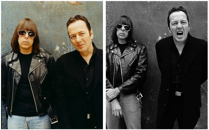 Johnny Ramone Joe Strummer The Clash The Ramones 2001