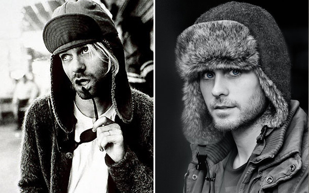 Kurt Cobain Jared Leto Nirvana Hat