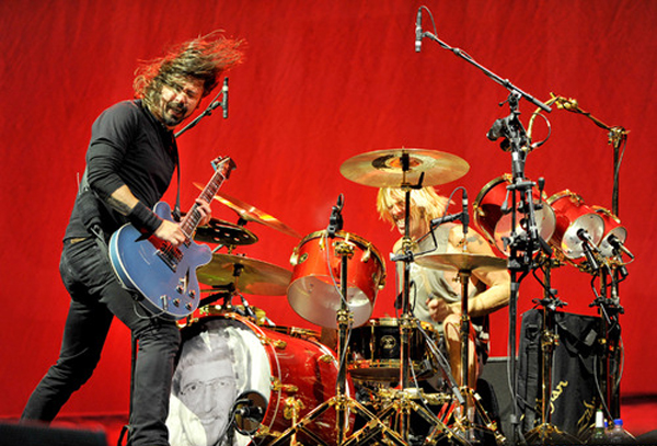 Taylor Hawkins Foo Fighters Leeds Drums 2012 Father Dad