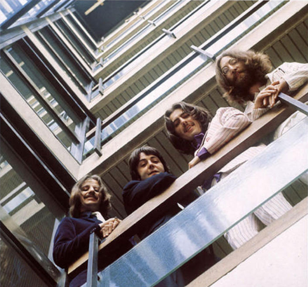 The Beatles EMI House Stairwell 1969