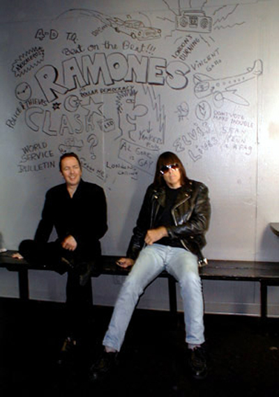 The Ramones The Clash Johnny Ramone Joe Strummer