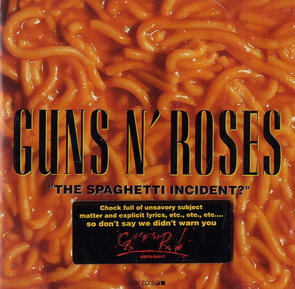 Guns N' Roses The Spaghetti Incident Cover Sticker