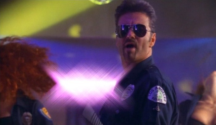 George Michael Police Uniform Los Angeles Arrest Bathroom Outside Video