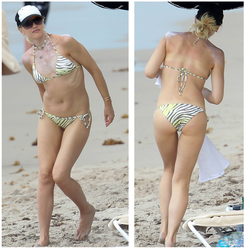Gwen Stefani Bikini Photos Sexy Hot Photo Gallery