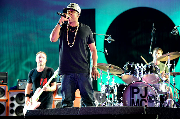 Pearl Jam Jay-Z Made In America 99 Problems