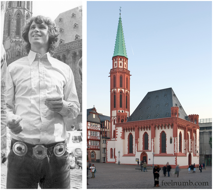Jim Morrison church Alte Nikolaikirche Saint Nicholas Frankfurt Germany