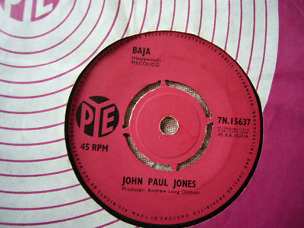 John Paul Jones Single Baja A Foggy Day In Vietnam 1964
