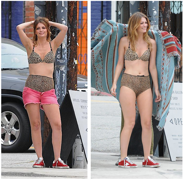 Mischa Barton Noel Gallagher Bra Panties Video