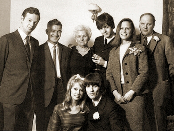 Paul McCartney Drunk George Harrison Wedding Patti Boyd 1966