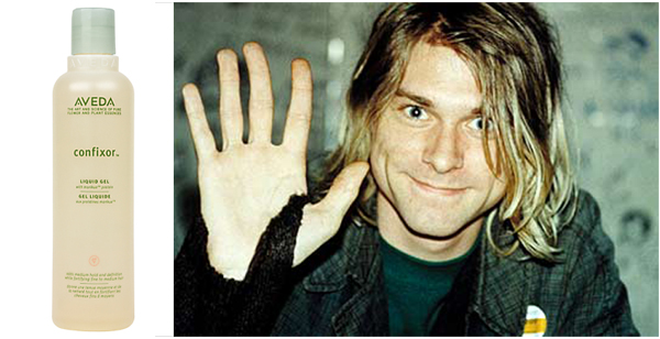 Kurt Cobain Nirvana Scent Aveda Confixor Hair Product Mary Lou Lord