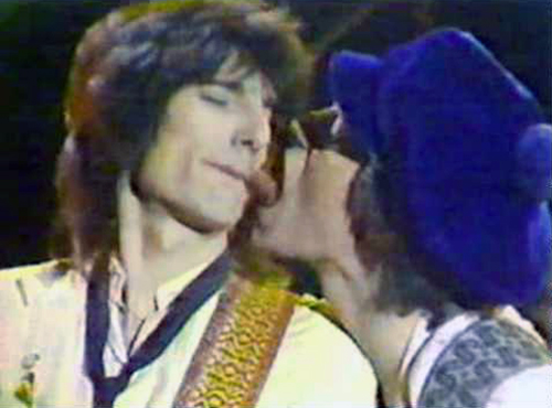 The Rolling Stones Saturday Night Live 1978 Ronnie Wood Mick Jagger Lick