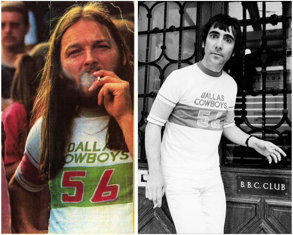 David Gilmour Keith Moon Same Dallas Cowboys 56 Shirt