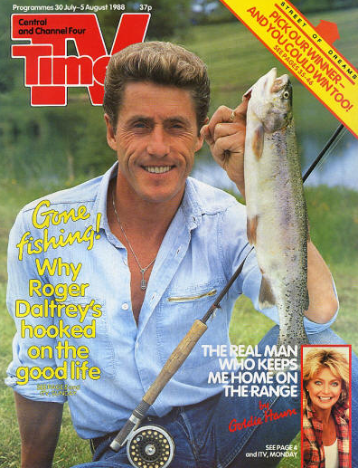 Roger Daltrey Lakedown Trout Fishery The Who Fishing