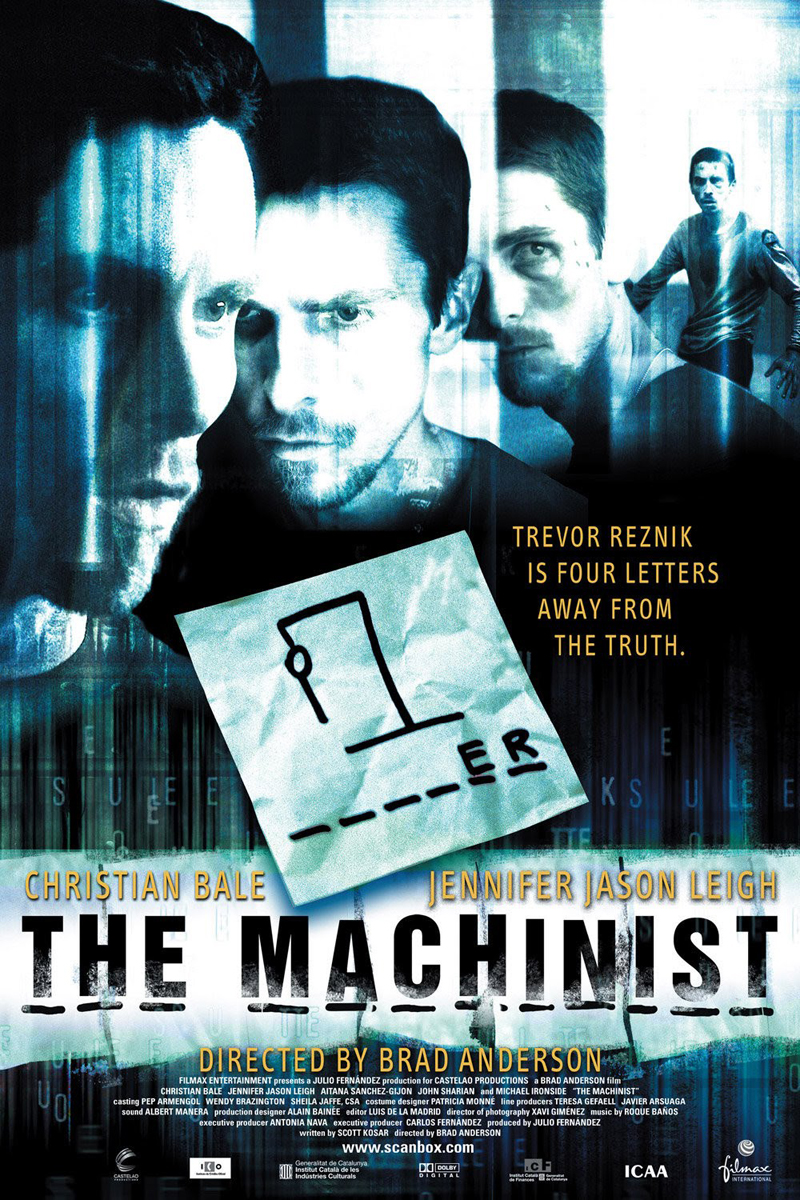 The Machinist Trent Reznor Nine Inch Nails Trevor Reznick Christian Bale