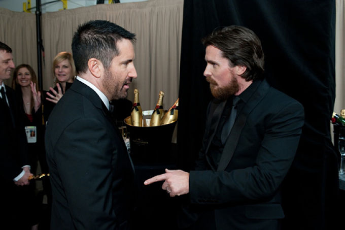 Trent Reznor Christian Bale The Machinist Trevor Reznick